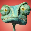The trippy animated film 'Rango'